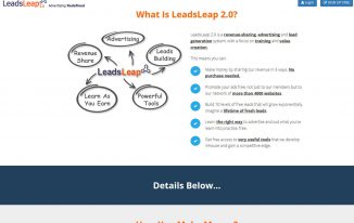 LeadsLeap – Traffic Exchange, Leads Network, Free Tools